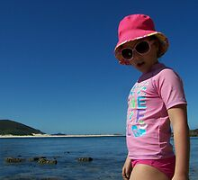 Beach Babe - Fingal Bay NSW by Penny McAlpine