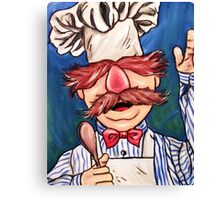 Swedish Chef Canvas Print