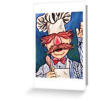 Swedish Chef Greeting Card