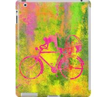 Cat and Bicycle Colours iPad Case/Skin