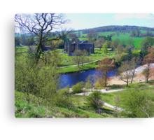 Bolton Abbey fron High Canvas Print