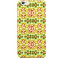 Red, Yellow and Green Abstract Design Pattern iPhone Case/Skin