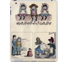 The Little Folks Painting book by George Weatherly and Kate Greenaway 0021 iPad Case/Skin