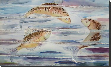 Three Little Fishes by Shoshonan