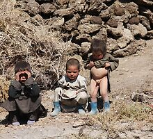 Three Brothers  (Afghanistan) by Antanas