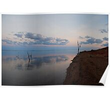 Sunsetting on Lake Argyle Poster