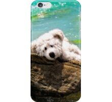 On The Rocks - Teddy Bear Art By William Patrick And Sharon Cummings iPhone Case/Skin