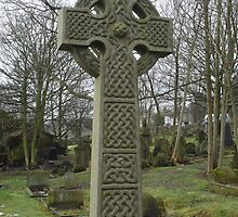 Celtic/Pagan Cross by Sandra Cockayne