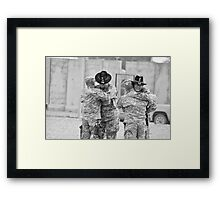 Cavalry Brotherhood Framed Print