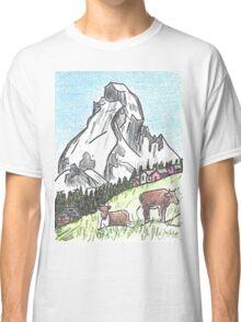 Matterhorn Zermatt, Switzerland Classic T-Shirt
