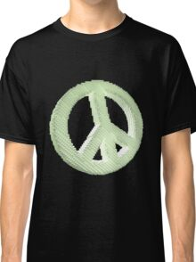 Voxelated Peace Classic T-Shirt