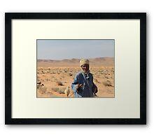 BERBER SHEPERD  Framed Print