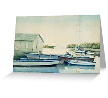 Sailboats no.2 Greeting Card