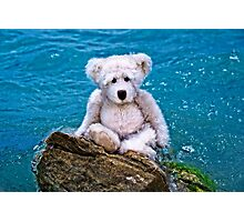 Beach Bum - Teddy Bear Art By William Patrick And Sharon Cummings Photographic Print