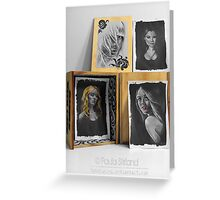 Primary Portraits Greeting Card