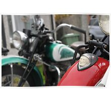 indian motorcycles chief and 741 Poster