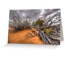 Utah Desert Greeting Card
