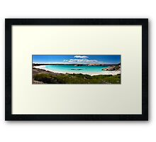 From the Bush to the Beach Framed Print