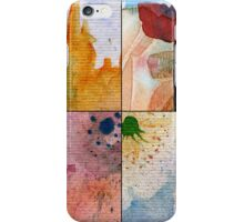 WATERCOLOUR MONTAGE  iPhone Case/Skin