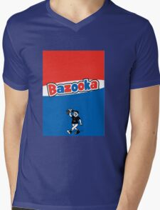 Bazooka bubble chewing gum Mens V-Neck T-Shirt