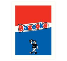 Bazooka bubble chewing gum Art Print