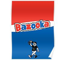 Bazooka bubble chewing gum Poster