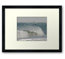 Beach art Framed Print
