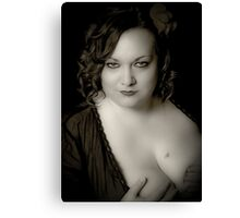 Beauty in Black & White Canvas Print