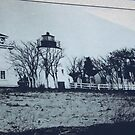 Picture of Piney Point Lighthouse and Bell Tower. by icesrun