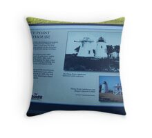 The Bell Tower and  Lighthouse Throw Pillow