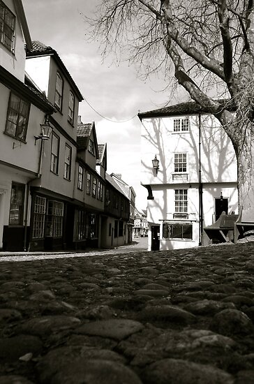 Elm Hill by Adam North