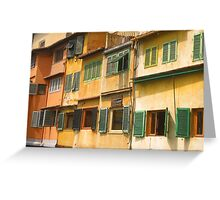 Shutters Greeting Card