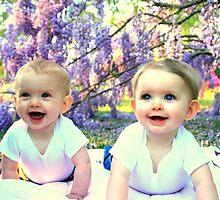 My Girls & Purple by Meredith Ward