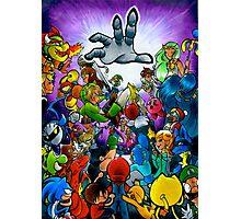 Super Smash Bros VS Master Hand Photographic Print