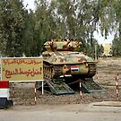 Iraqi Light Tank by Charles Buchanan