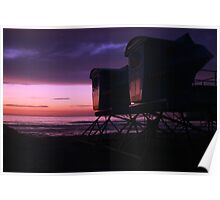 The Life Guard Towers Poster
