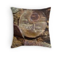 Love and Money Throw Pillow