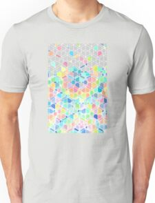 Rainbow Cubes & Diamonds Unisex T-Shirt
