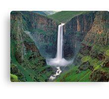 The Maletsunyane Falls,Lesotho,Africa Canvas Print
