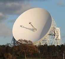 Jodrell Bank radio telescope by 3443black