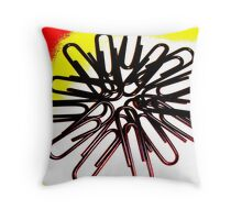The Office Abstract #3 Throw Pillow