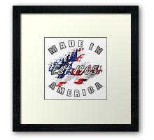 1965 Made In America Framed Print