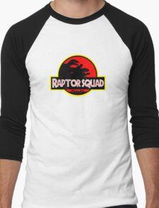 Raptor Squad Men's Baseball ¾ T-Shirt