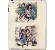 The Little Folks Painting book by George Weatherly and Kate Greenaway 0073 iPad Case/Skin