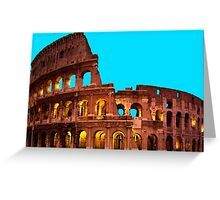colosseum rome Greeting Card
