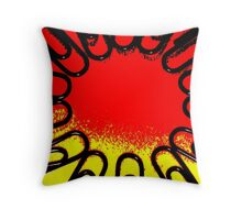 The Office Abstract ##### Throw Pillow
