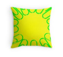 The Office Abstract ### Throw Pillow