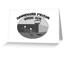 Escape from Dannemora Greeting Card