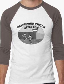 Escape from Dannemora Men's Baseball ¾ T-Shirt