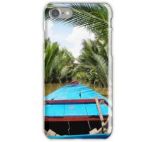 Chilling down the Mekong Delta iPhone Case/Skin